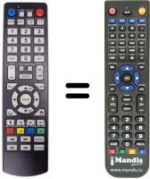 Replacement remote control 4GEEK MEDLEY 2 PLUS