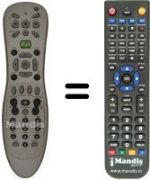 Replacement remote control MICROSOFT WINDOWSMEDIACENTER