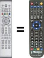 Replacement remote control Atec AV 371 DS