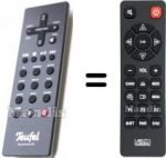 Replacement remote control Teufel HVS50261